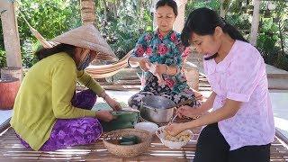 Bánh Ít Bột Lọc Vừa Dẻo Vừa Dai - Em Gái Quê - Bến Tre