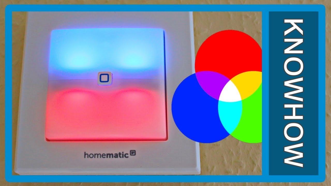Homematic IP 152020A0 Schaltaktor f/ür Markenschalter mit Signalleuchte