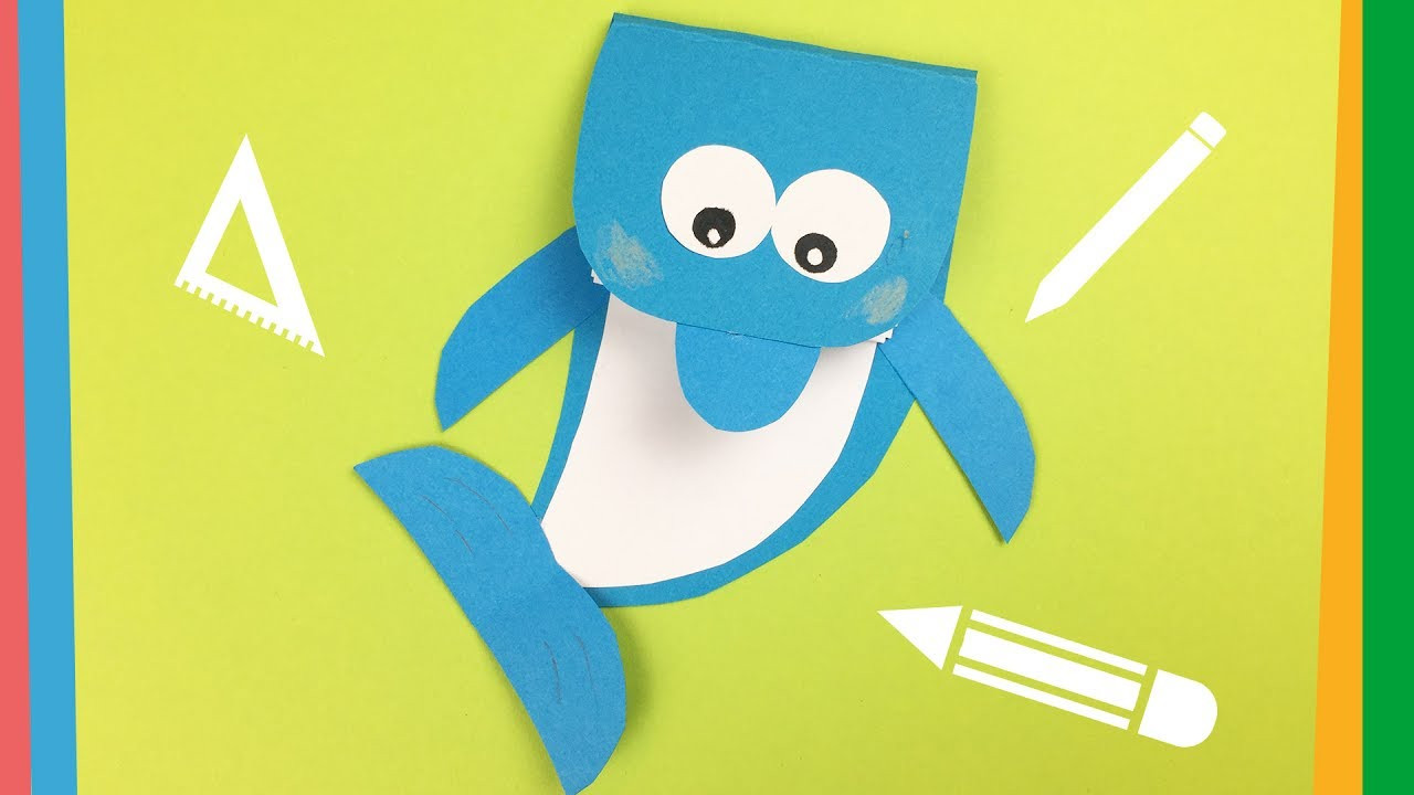 Dolphin Notebook DIY