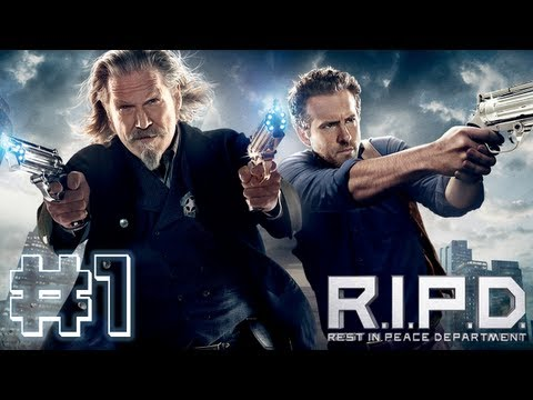 "R.I.P.D. The Game - Gameplay Walkthrough Part 1 Let's Play ""Rest In Peace Department Walkthrough"""