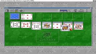 AMIGA DELUXE SOLITAIRE AGA FROM Assassins CD 3 The Ultimate Games CD 1997Weird Science!Amiga CDTV32