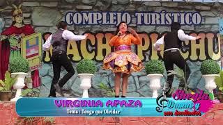 VIRGINIA APAZA /Primicia 2018 /Tengo que Olvidar/en el Programa Sheyla Damas y sus Invitados
