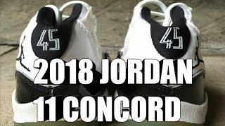 """AIR JORDAN 11 OG """"CONCORD"""" RELEASING 2018"""