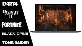 13-inch MacBook Pro - Mac Gaming Benchmark