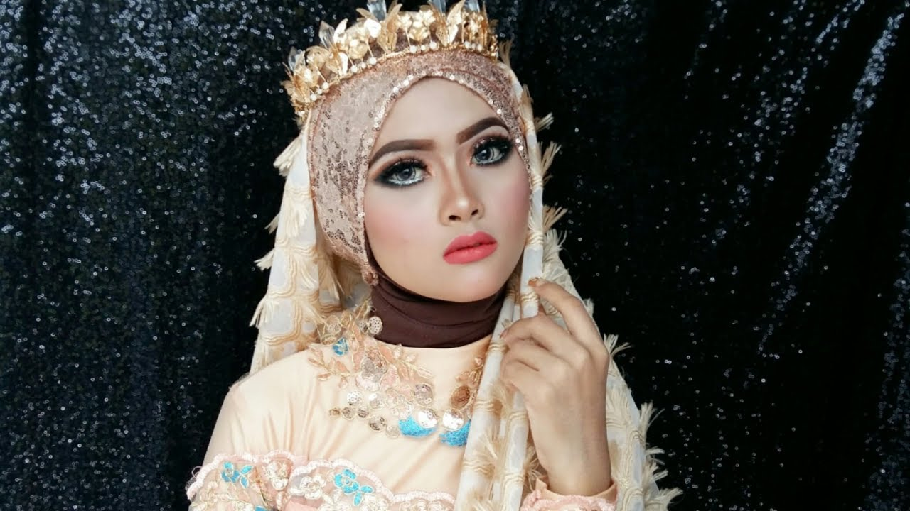 Full Tutorial Makeup Pengantin Tutorial Hijab At Khalifahnenymakeup