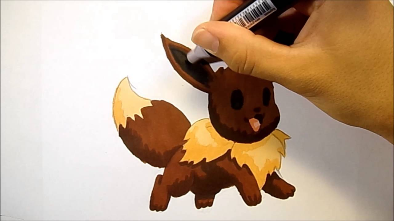 Dessiner Evoli Pokemon Wis Creation Youtube