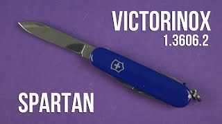 Розпакування Victorinox Spartan Blue (1.3603.2)