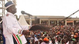 Raila asks Busia residents to reject jubilee for not fulfilling promises made in 2013
