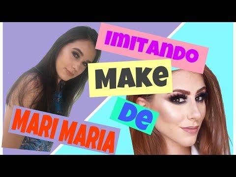 IMITANDO MAKE DE MARI MARIA        Não deu certo