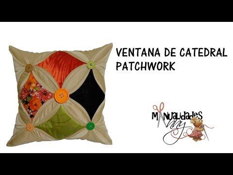 CLASE XXXVI - VENTANA DE CATEDRAL PATCHWORK | Manualidades Anny
