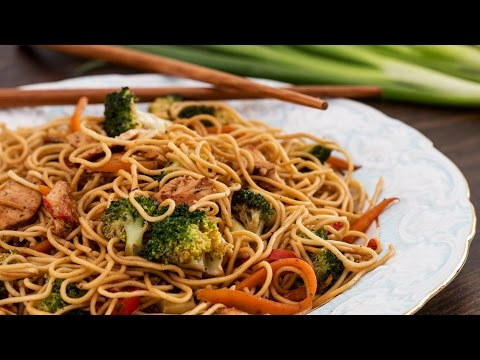 Chicken Stir-Fry Noodles Recipe