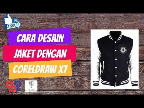 Video Tutorial Cara Desain Jaket Football dengan CorelDraw X7