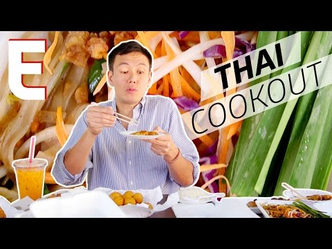 Authentic Thai Street Food in a North Hollywood Parking Lot — Dining on a Dime