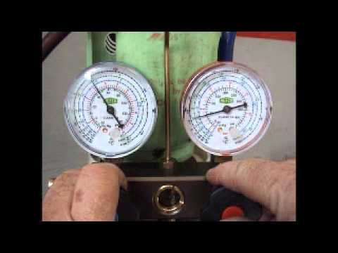 Car Air Conditioning Pressure Test