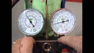 Car Air Conditioning Pressure Test