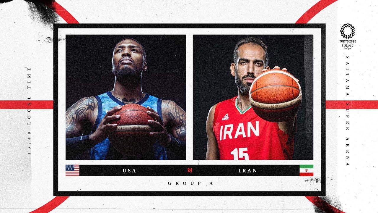 Download USA v Iran - LIVE Updates | Tokyo 2020 Olympic Basketball Tournament