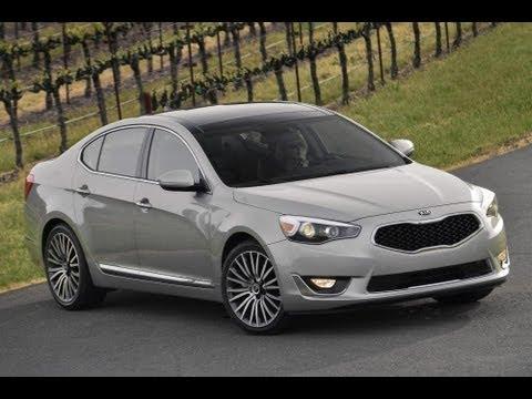 2014 Kia Cadenza Start Up and Review 3.3 L V6