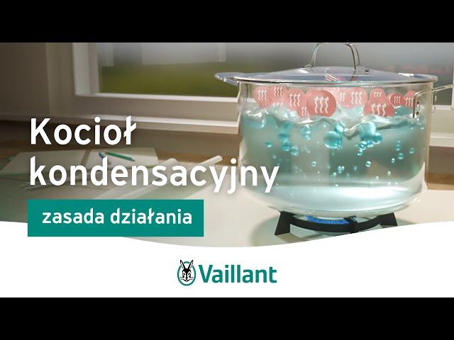 Jak działa piec kondensacyjny? | Vaillant