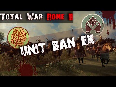 Nomads vs Armenians! | Unit Ban EX R1G3 | Total War Rome II Tournament |