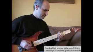 Cours de guitare - Hotel California Solo (The Eagles)