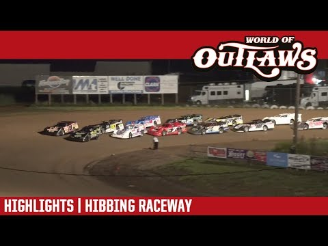 World of Outlaws Craftsman Late Models Hibbing Raceway July 13, 2017 | HIGHLIGHTS