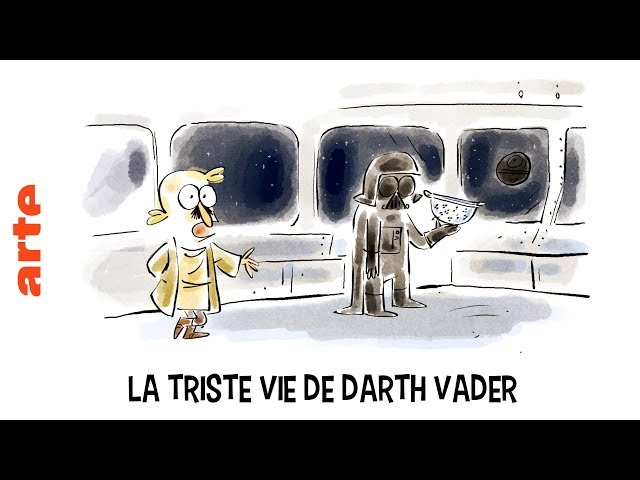 La triste vie de Darth Vader - Tu mourras moins bête - ARTE