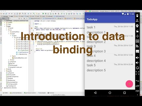 Introduction to android data binding with to-do app || Ajit Singh