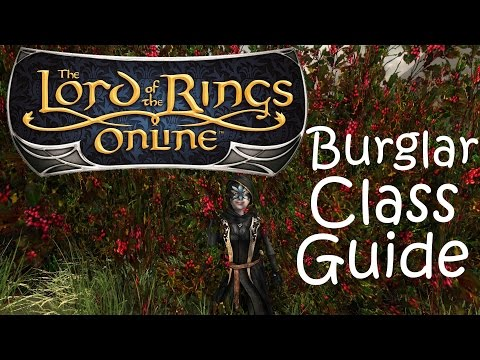 The Lord of the Rings Online: Burglar Class Guide Video