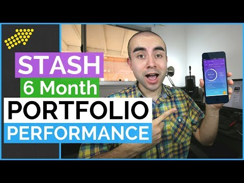 Stash Portfolio Perfomance After 6 Months