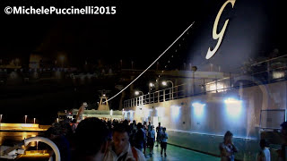 Cruise Barcelona (Grimaldi Lines)   Civitavecchia-Porto Torres 7-8/8/2015