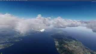 PMDG NGX Approach And Landing Into Orbx LDDU P3d V4 [2 Of 2]