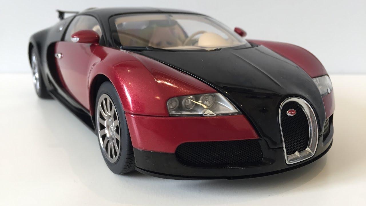 1 18 Autoart Bugatti Veyron Production Car 001 Youtube