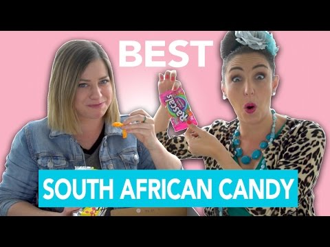 Trying South African Candy with Suzelle DIY!