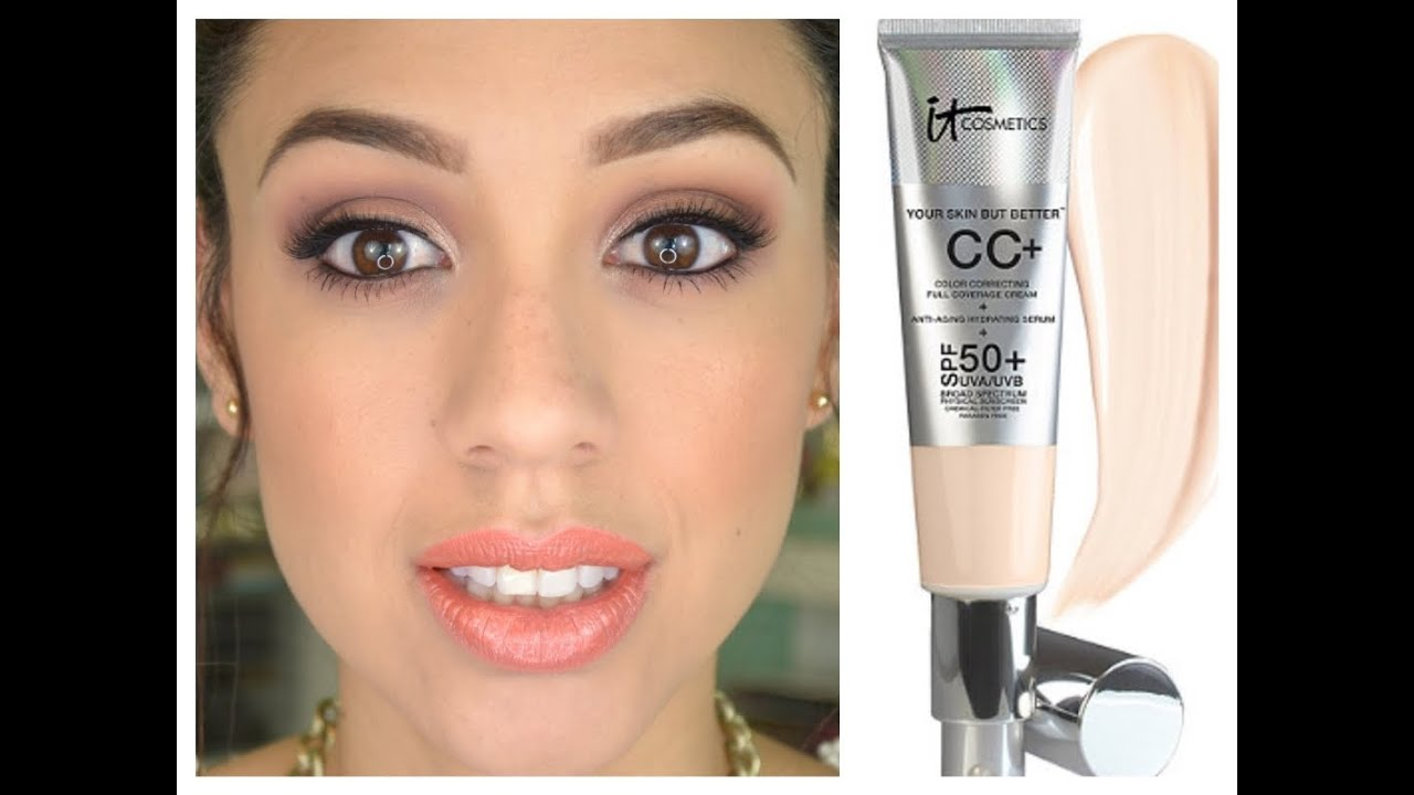 It Cosmetics Cc Cream 1st Impressions Review Youtube