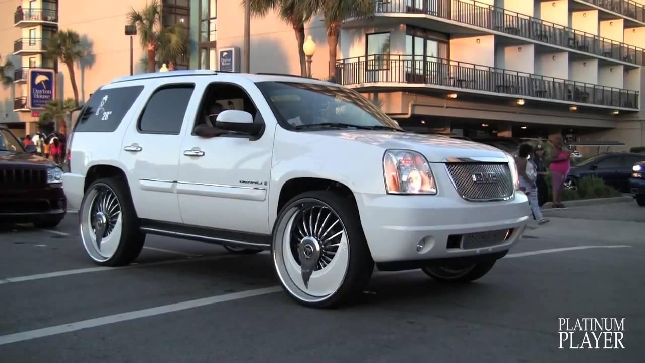 Myrtle Beach Cadillac >> GMC YUKON DENALI on 30 INCH DUB AZZMACKA MYRTLE BEACH ...