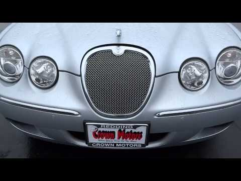 2008 jaguar s type redding eureka red bluff northern for Crown motors redding california