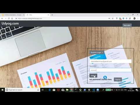 Udyog - Job Portal Web Application