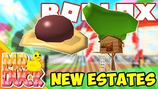 NEW TREEHOUSE AND ROCK ESTATE! - Roblox Meepcity Update