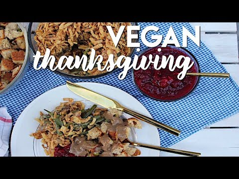 Classic Thanksgiving Side Dishes (VEGAN)