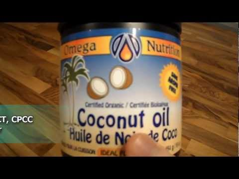 A review of Omega Nutrition certified organic virgin coconut oil Tutorial update