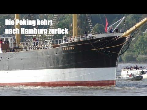 Die Peking kehrt nach Hamburg zurück ...