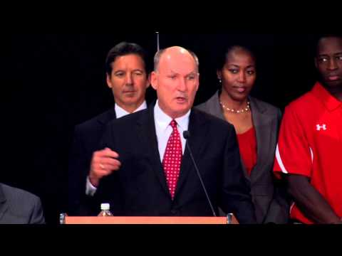 Press Conference: University of Maryland Joins the Big 10 Conference