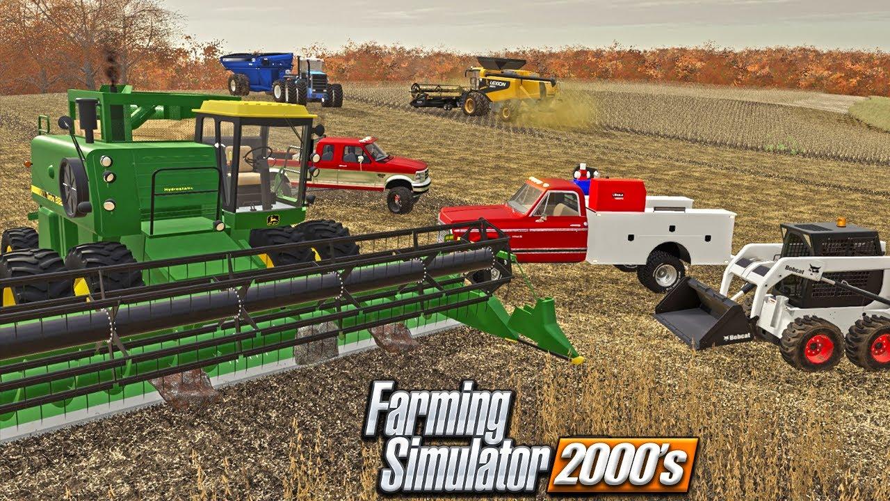 2000 ROLEPLAY | RAN A ROCK PILE THRU THE 8820 COMBINE! | FARMING SIMULATOR 19
