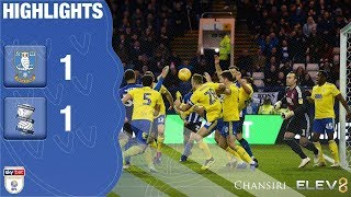 Sheffield Wednesday 1 Birmingham City 1 | Extended highlights | 2018/19