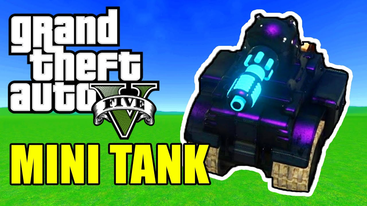 GTA 5 Funny Moments  - MINI TANKS FROM THE FUTURE!!!   Comedy Gaming