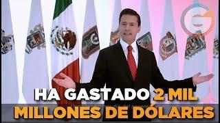 Peña Nieto ha gastado millones de dólares en publicidad: NYT