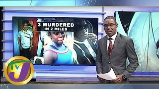 TVJ News Today: Blood & Mayhem on Harvey Road in St. Andrew - June 12 2019