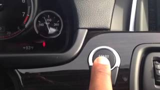 Why you have to push stop button twice to cut off your BMW Houston Texas