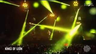 Kings of Leon - Supersoaker, Taper Jean Girl, Fans, Family Tree (Live @ Lollapalooza 2014)