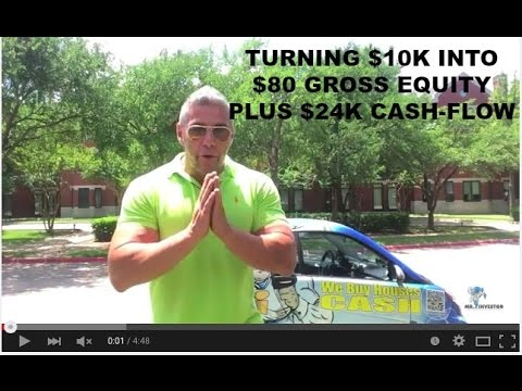 I Invested $10K, made $80K Equity, plus $24K Cash-Flow in 5 Years - Real Estate Investor